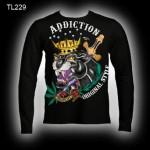 футболки оптом addiction