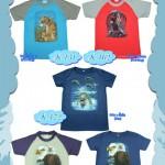 детские футболки rock eagle